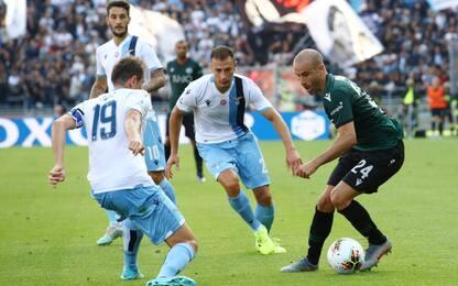 Gol, rossi, rigore fallito: Bologna-Lazio 2-2