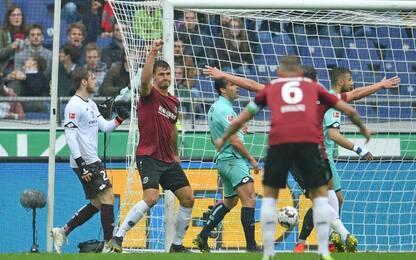 Hannover-Mainz 1-0