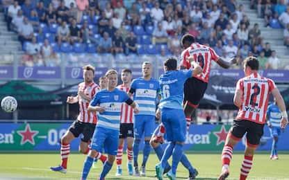 PEC Zwolle-Sparta Rotterdam 2-2