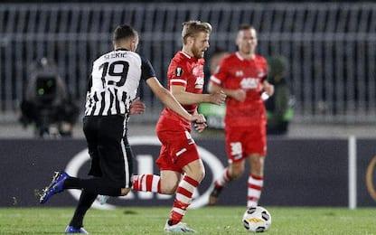 Partizan-AZ 2-2