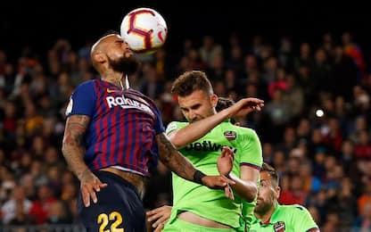 Barcellona-Levante 1-0