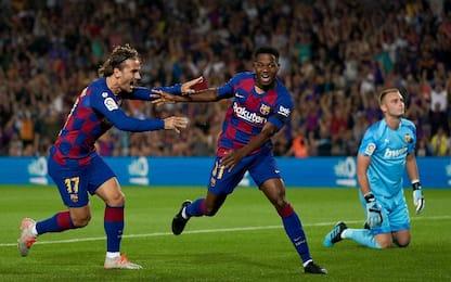 Barcellona-Valencia 5-2