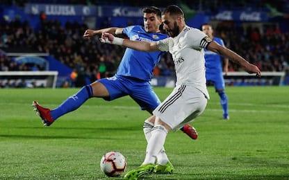 Getafe-Real Madrid 0-0