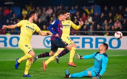 Villarreal-Barcellona 4-4
