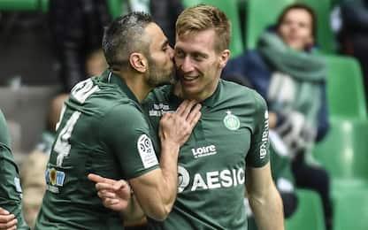 St Etienne-Tolosa 2-0
