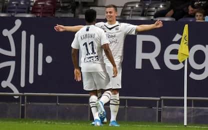 Tolosa-Bordeaux 1-3