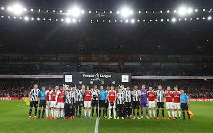 Arsenal-Newcastle 2-0