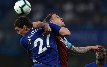 Chelsea-Burnley 2-2