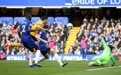 Chelsea-Wolves 1-1