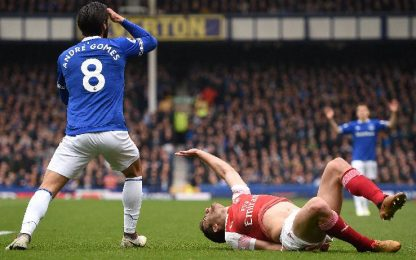Everton-Arsenal 1-0