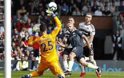 Fulham-Man City 0-2