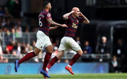 Fulham-Newcastle 0-4
