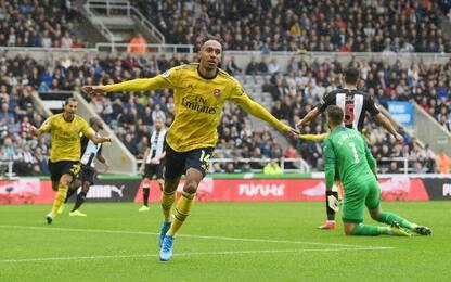 Newcastle-Arsenal 0-1