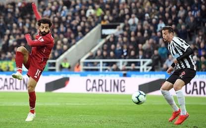 Newcastle-Liverpool 2-3