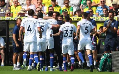 Norwich City-Chelsea 2-3