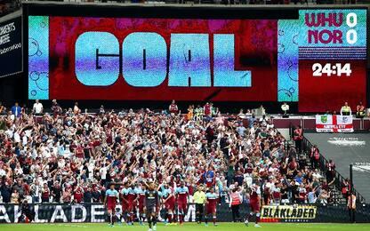 West Ham-Norwich City 2-0