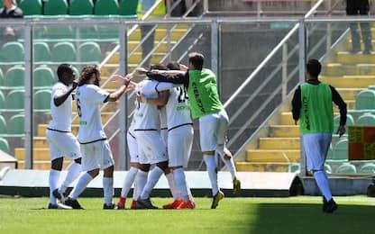 Palermo-Spezia 2-2