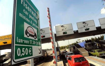 Car pooling aziendale, l'Italia nel 2016 ha risparmiato 647mila km