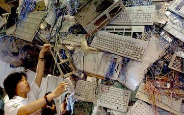 Getty_Images_Rifiuti_elettronici_Cina