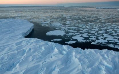 Mare di Ross, svelato il mistero delle acque super salate in Antartide