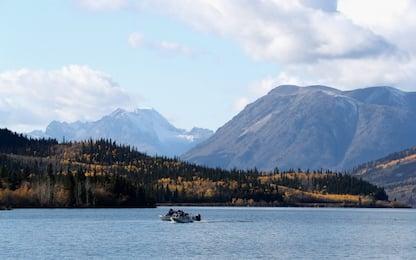 Canada, fiume devia il suo percorso per via del cambiamento climatico<br>