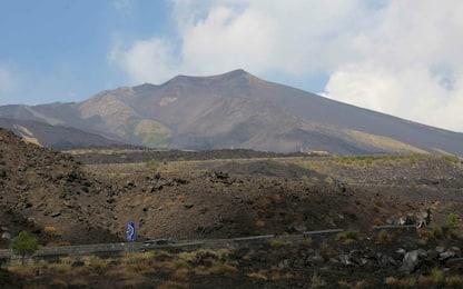 Catania, ciclisti in difficoltà per maltempo sull'Etna: salvati da Gdf