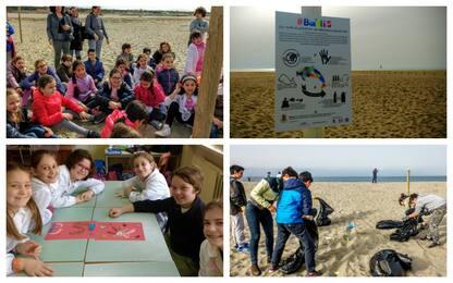 Raccolgo, riciclo, riuso: i bambini combattono la plastica con #Batti5