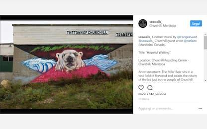 La street art che denuncia il disastro ambientale