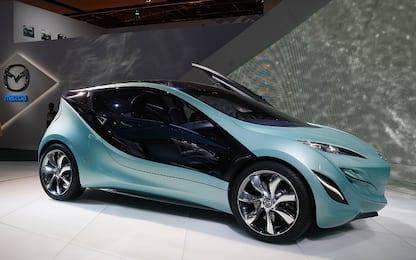 Mazda, solo auto elettriche e ibride dal 2030