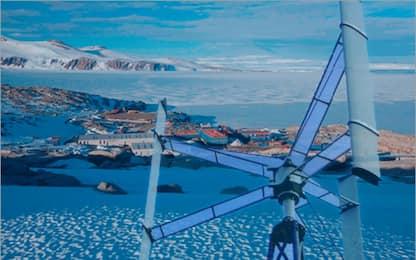 Primo impianto eolico nella base italiana Zucchelli in Antartide