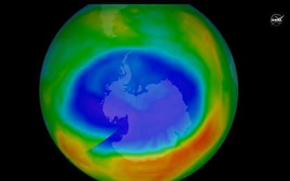 Omm, si è chiuso il buco dell'ozono record in Antartide