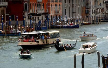 A Venezia vaporetti ecosostenibili alimentati con olio da cucina