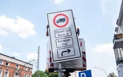 Diesel, ad Amburgo stop ai vecchi veicoli non Euro 6