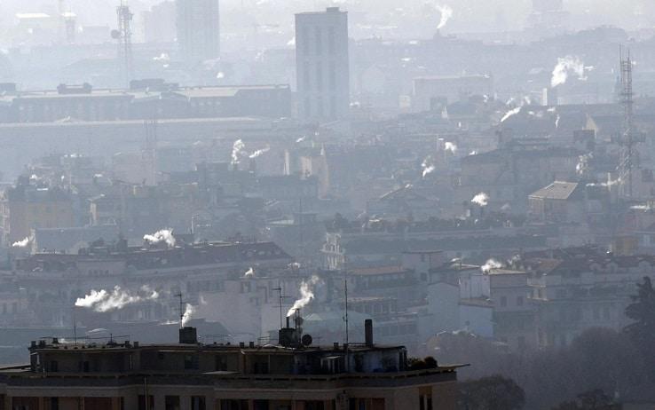 Lo smog a Milano