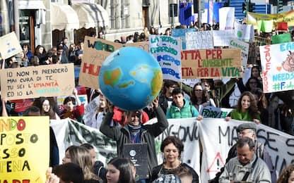 Sciopero per il clima il 27 settembre, manifestazioni in tutta Italia
