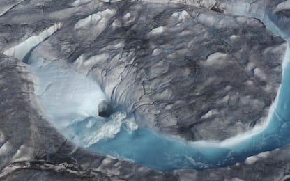 Groenlandia, addio a 10mld di tonnellate di ghiaccio al giorno. VIDEO