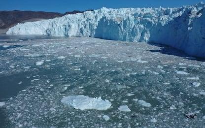 Groenlandia, la fragilità dei ghiacci fotografata dai droni