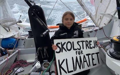 Greta Thunberg, anche sull'Atlantico lo sciopero per il clima