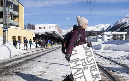 Greta Thunberg, paladina delle lotte per il clima. FOTO
