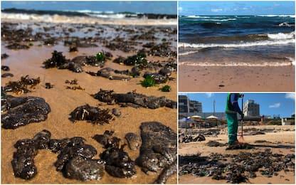 Brasile, chiazza di petrolio arriva a Salvador: turismo a rischio