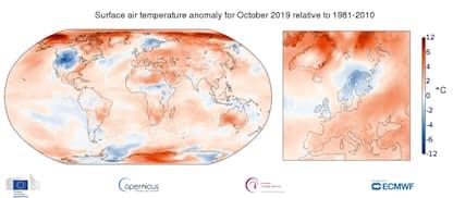 Ispra, il 2019 è stato il terzo anno più caldo in Italia dal 1961