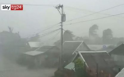 Filippine, in arrivo il tifone Kammuri: evacuate 100mila persone
