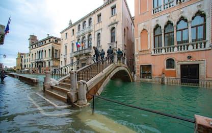 Ingv, nel 2100 il livello del mare a Venezia potrebbe salire di 108 cm