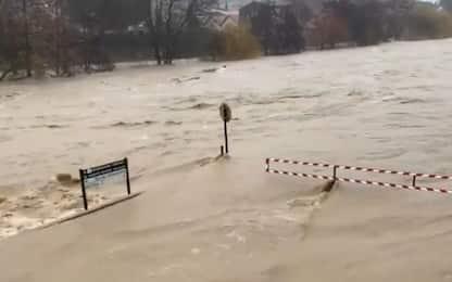 Tempesta Gloria, alluvioni ed evacuazioni nel Sud della Francia. VIDEO