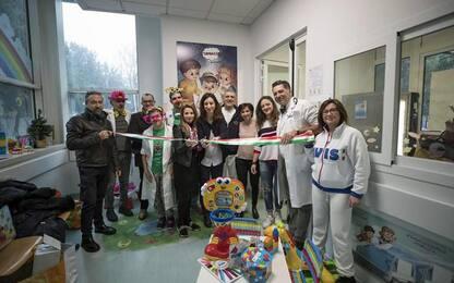 Sala aspetto pediatrica a Pesaro