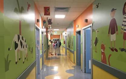 Nuove decorazioni Pediatria a Pesaro