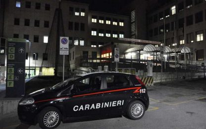Auto in scarpata, 41enne in ospedale