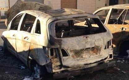 In fiamme auto moglie sindaco di Troia