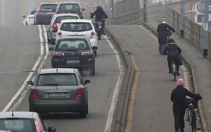 Rientrano i livelli di smog a Ferrara
