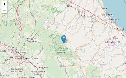 Forlì-Cesena, terremoto di magnitudo 3.7 con epicentro a Premilcuore